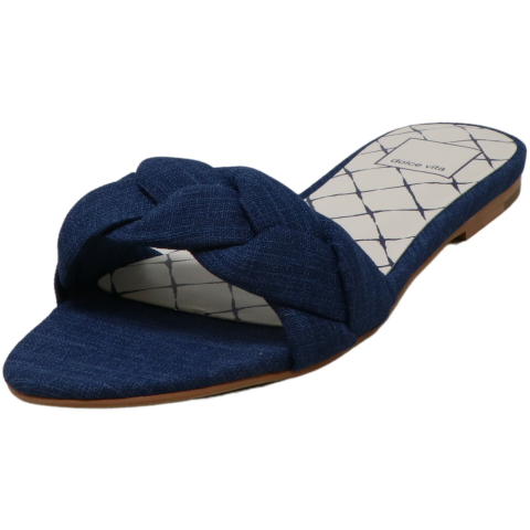 Dolce Vita Women's Kimana Linen Fabric Sandal