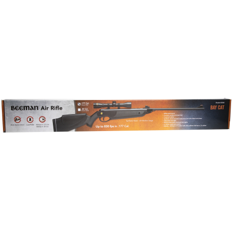 Beeman Bay Cat Air Rifle .177 Caliber - Black