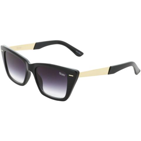 Quay Women's Gradient Prove It QU-000743-BLK/FADE Black Cat Eye Sunglasses