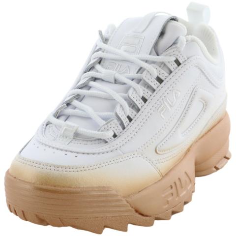 Fila Women's Disuptor Ii Brights Fade Ankle-High Sneaker