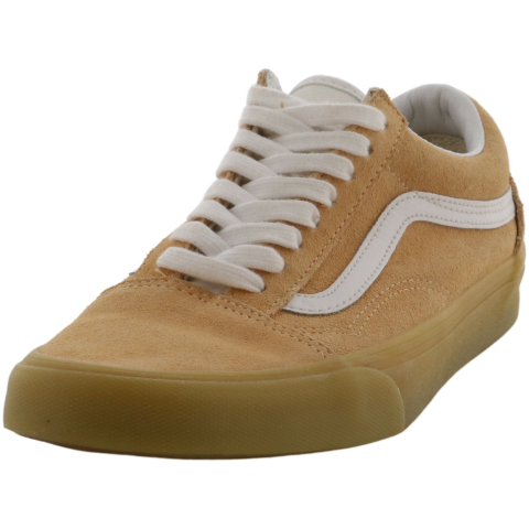 Vans Old Skool Double Light Gum Low Top Suede Women'