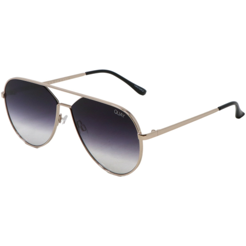 Quay Gradient Hold Please QW-000630-GLD/FADE Gold Sunglass