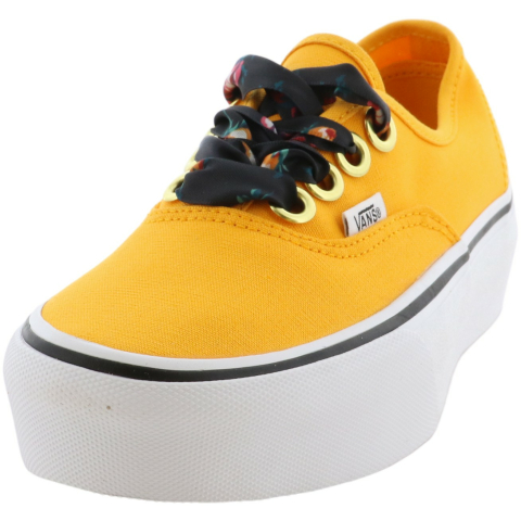 Vans Authentic Platform Oversized Lace Low Top Canvas Women'