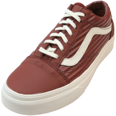 Vans Old Skool Moto Leather Low Top Women'