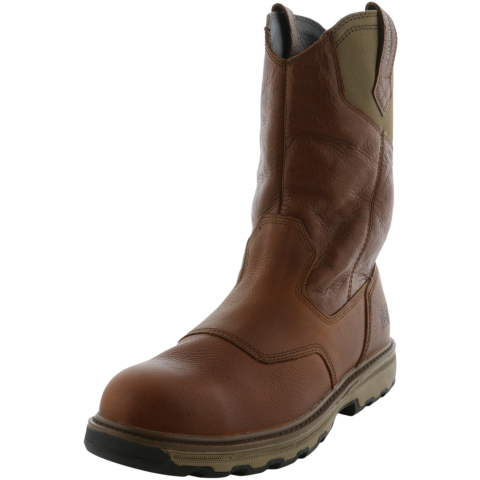 Cat Men's Leeward St Mid-Calf Leather Industrial & Construction Boot