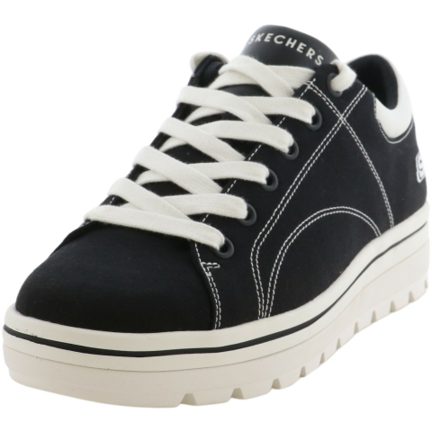 Skechers Men's Street Cleats 2-Bring It Back Low Top Canvas Sneaker
