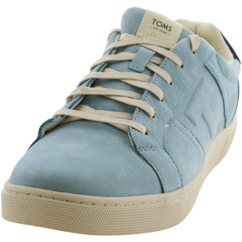 Toms Men's Leandro Leather Ankle-High Sneaker