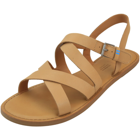 Toms Women's Sicily Leather Ankle-High Sandal