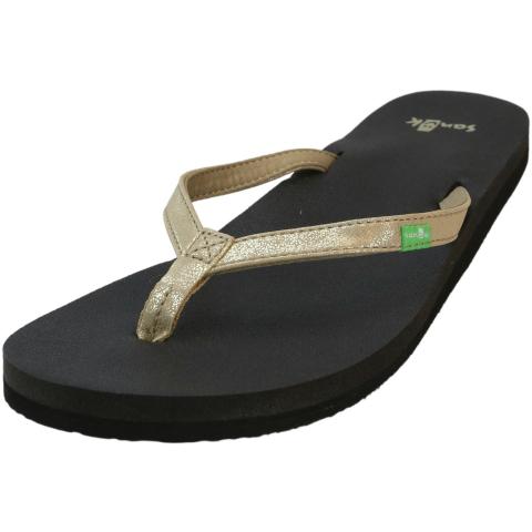 Sanuk Women's Yoga Joy Metallic Sandal