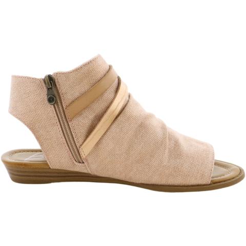 Blowfish Women's Blumoon Dyecut Ankle-High Canvas Sandal