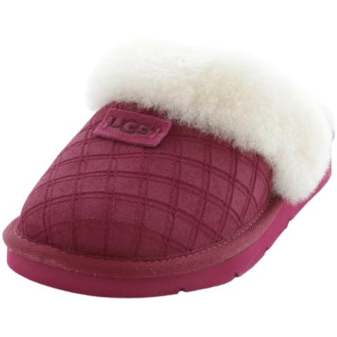 Ugg Women's Cozy Double Diamond Wool Slipper
