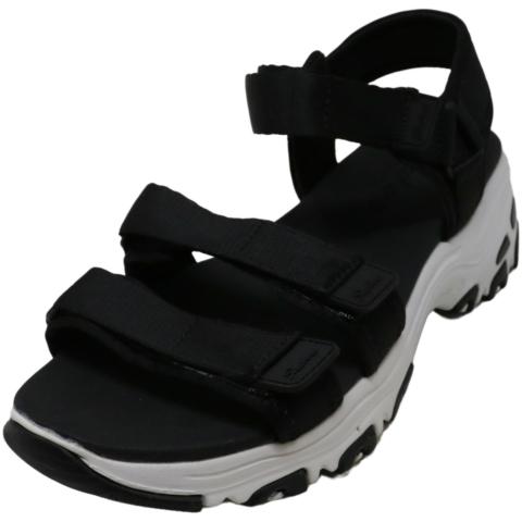 Skechers Women's D'lites - Fresh Catch Ankle-High Fabric Sandal