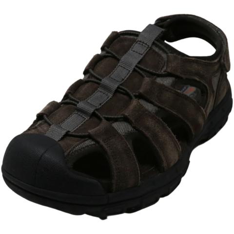 Skechers Men's Garver - Selmo Ankle-High Leather Sport Sandals & Slide