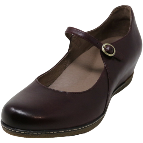 Dansko Women's Loralie Burnished Calf Ankle-High Leather Mary Jane