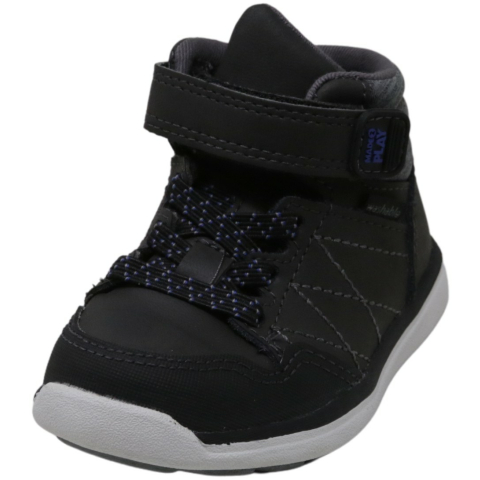 Stride Rite Boy's Made 2 Play Saul High-Top Leather Sneaker