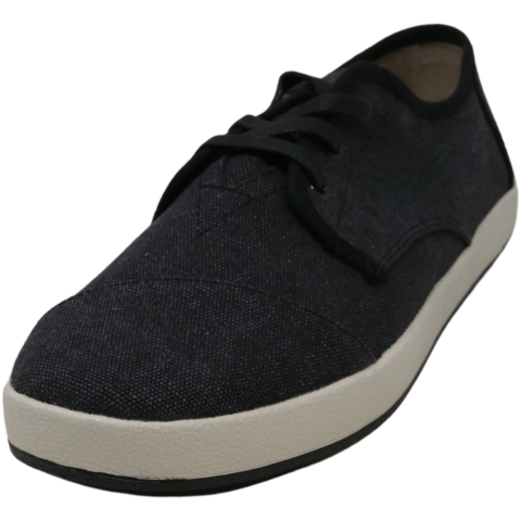 Toms Men's Paseo Washed Canvas Leather Sneaker