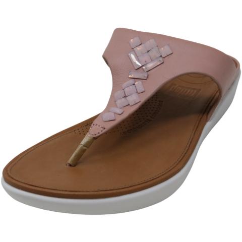 Fit Flop Women's Banda Leather Toe-Thong Sandal