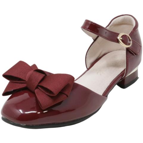 Flyrioc Girl's Heel Sandal Ballet Dress Ankle-High Mary Jane