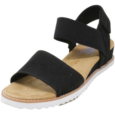 Skechers Women's Desert Kiss Ankle-High Fabric Sandal