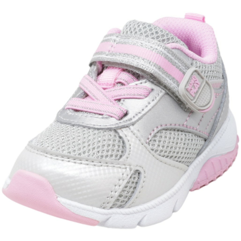 Stride Rite Girl's Made 2 Play Indy Mid-Top Leather Running