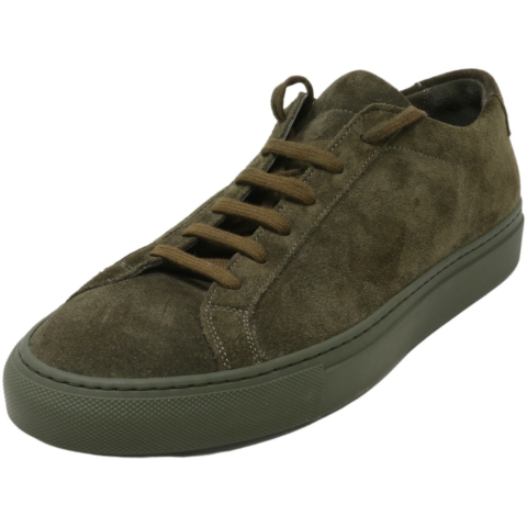Common Projects Men's Original Archilles Low In Suede Sneaker Ankle-High Leather