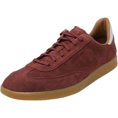 Cole Haan Men's Grandpro Turf Suede Ankle-High Sneaker