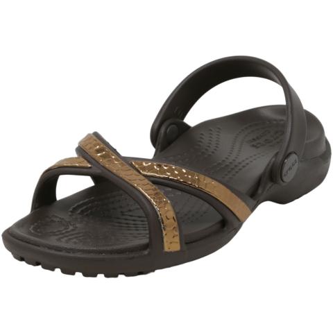 Crocs Women's Meleen Metaltext Xband Sandal