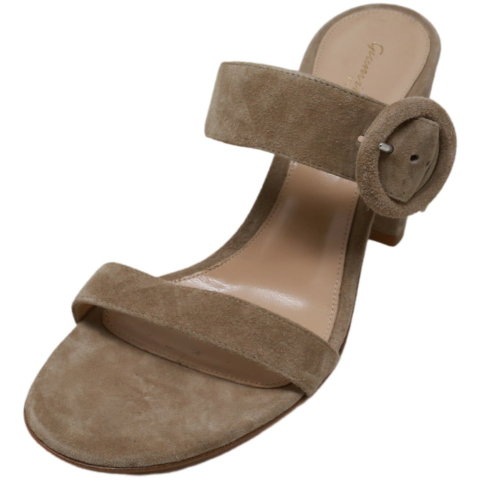 Gianvito Rossi Women's Lee Leather Heel
