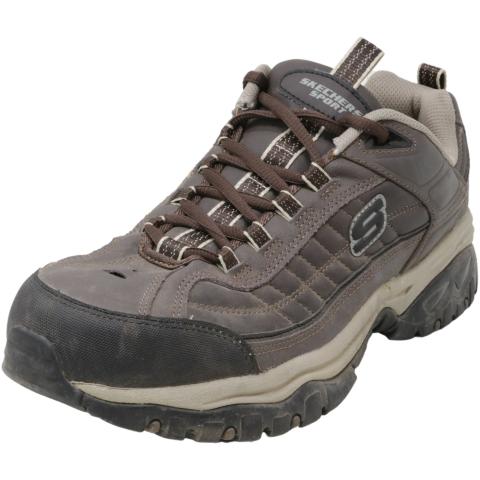Skechers Men's Energy Downforce Mid-Top Leather Hiking Shoe