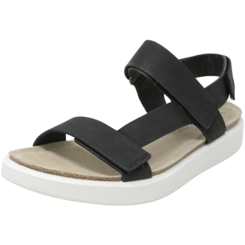 Ecco Women's Corksphere Ankle-High Leather Sandal