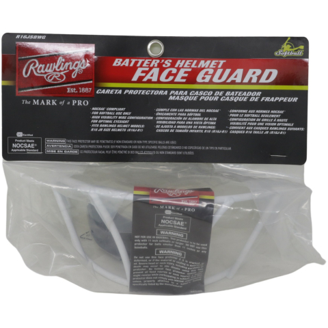 Rawlings Junior Softball Wire Guard Face R16