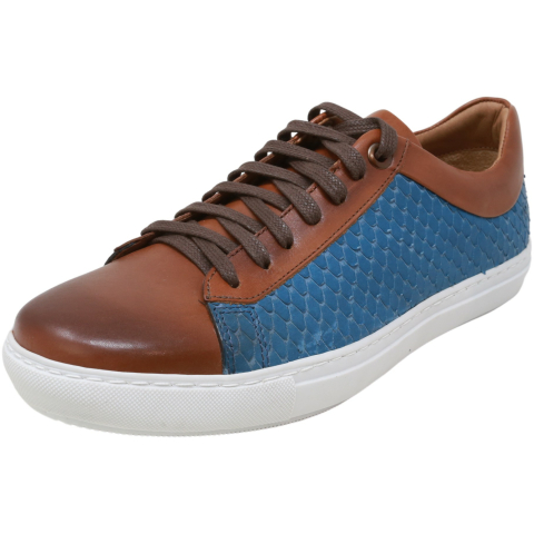 Brothers United Men's Arizona Leather Low Top Sneaker