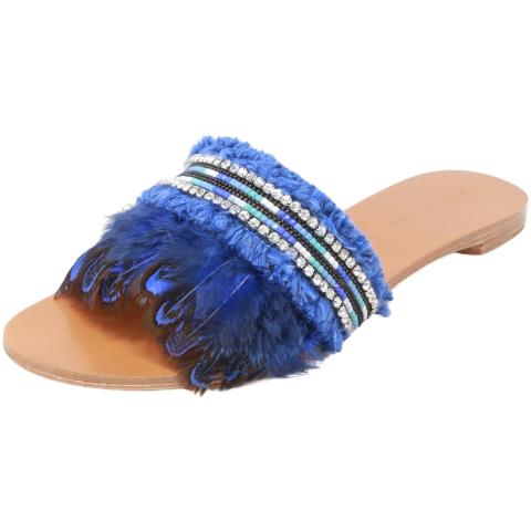 Badgley Mischka Women's Fortune Fabric Sandal