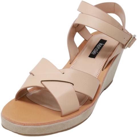 Kensie Women's Venezia Ankle-High Wedged Sandal