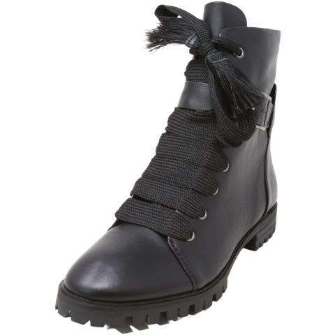 Splendid Women's Celine Leather Ankle-High Combat