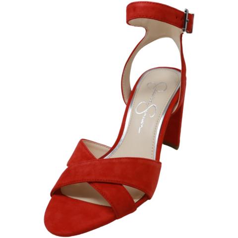 Jessica Simpson Women's Niara Lux Kid Suede Ankle-High Heel