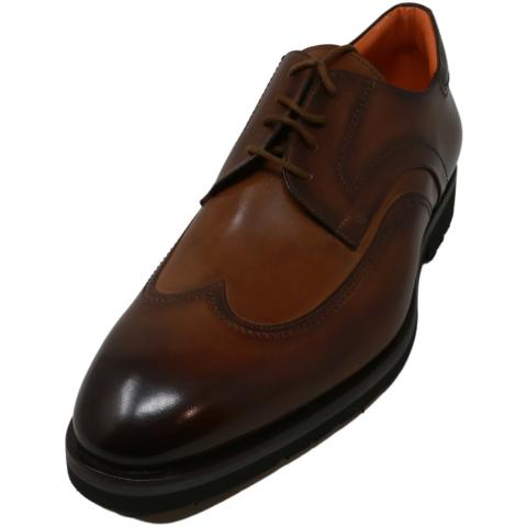Francesco Benigno Men's F4686 Stefan Oxford Ankle-High Leather