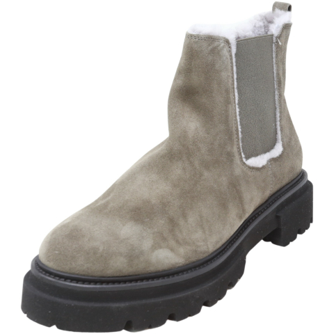 Kennel And Schmenger Women's Bobby Suede Platform Boot High-Top Leather