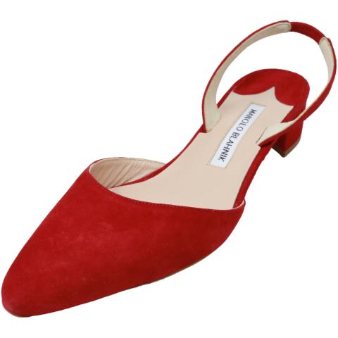 Manolo Blahnik Women's Aspro Pump Ankle-High Leather