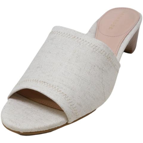 Taryn Rose Women's Nicolette Stretch Linen Fabric Sandal