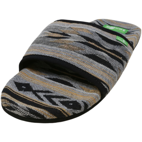 Sanuk Women's W Furreal Slide Canvas Sandal