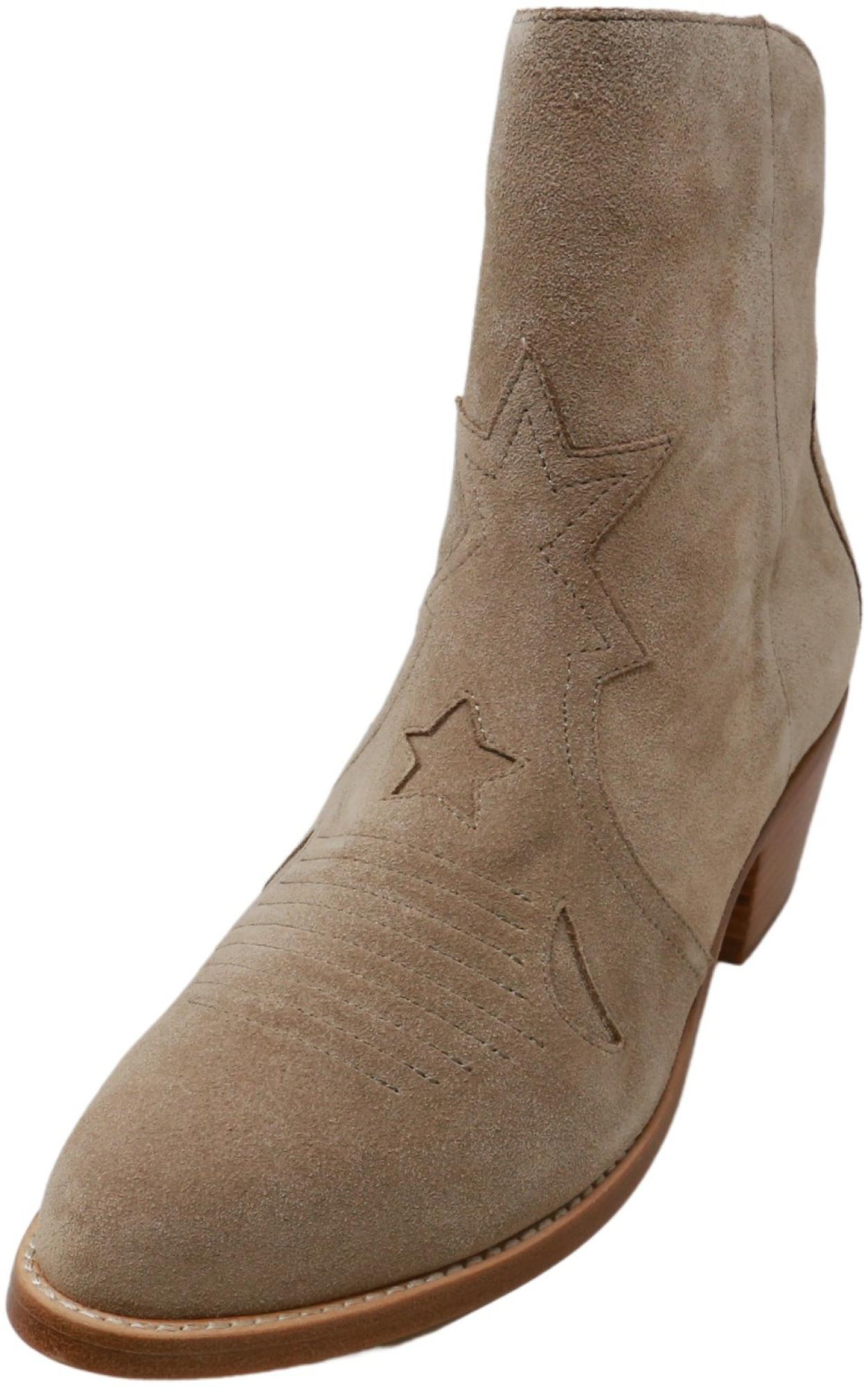 Joie Women's Perpetua Fog Mid-Calf Leather Boot - 10M