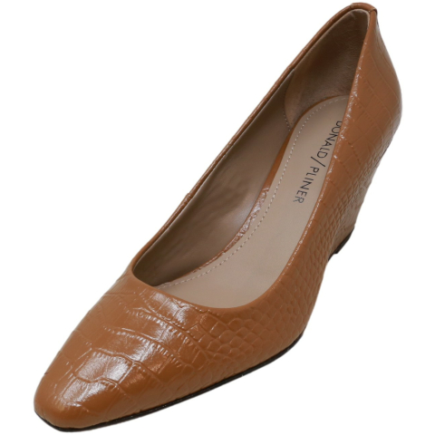 Donald Pliner Women's Jeri-94 Leather Wedged Sandal