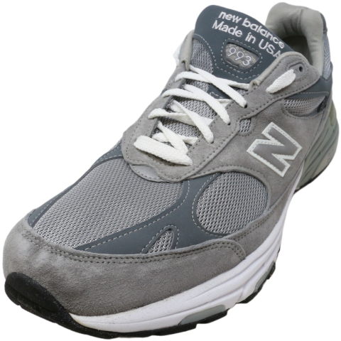 New Balance Men's Mr993 Ankle-High Leather Tenni