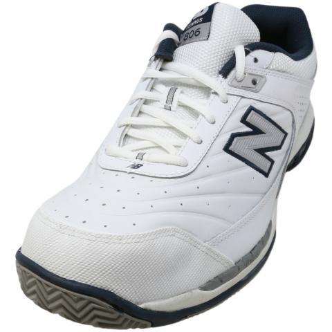 New Balance Men's Mc80 Ankle-High Leather Tenni