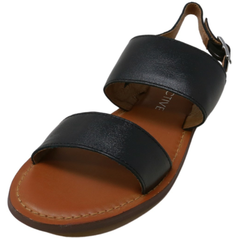 206 Collective Women's Cedar Casual Double Band Sandle Leather Sandal