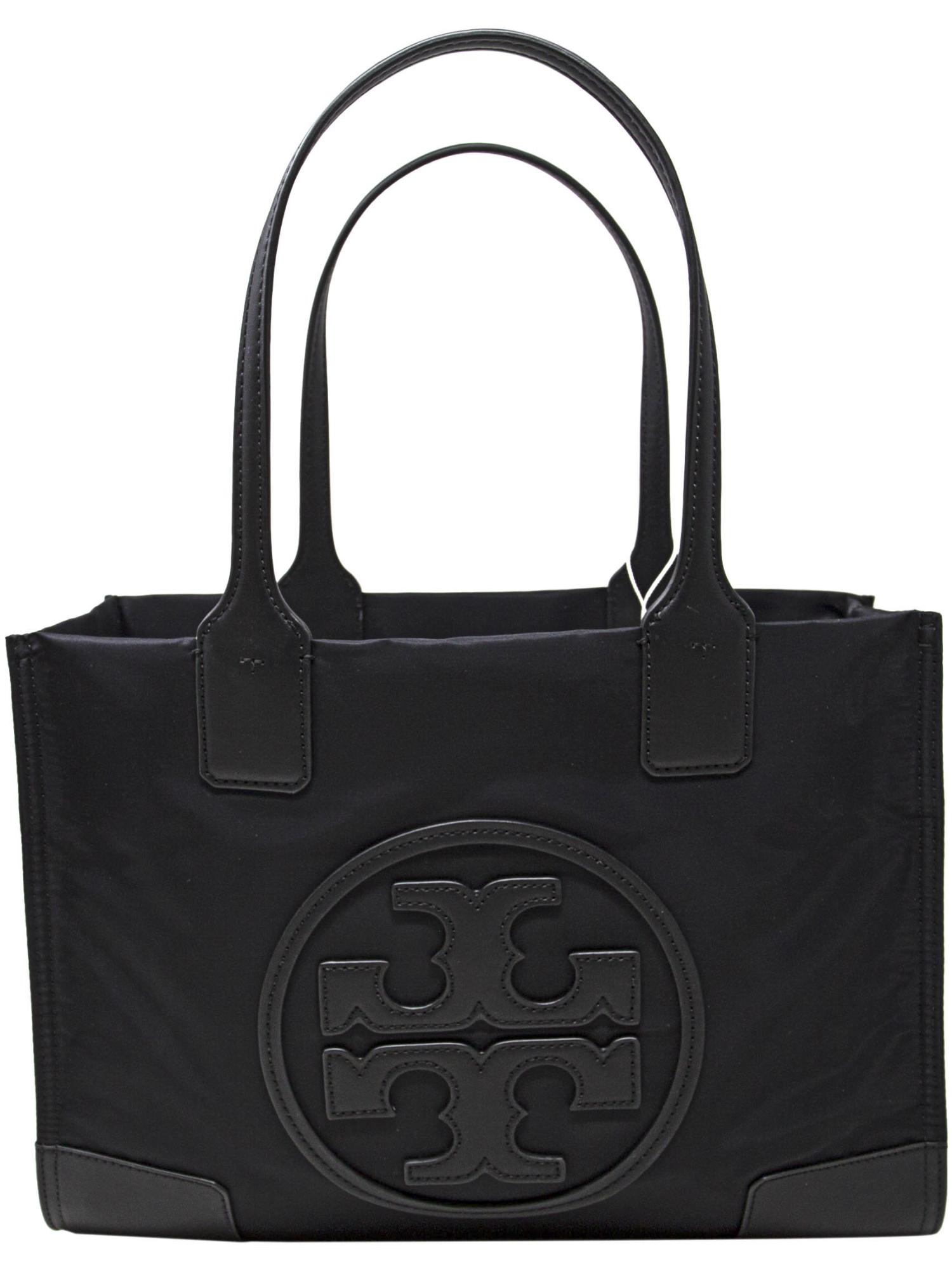 55b75f6d6e73 Tory Burch Women s Mini Ella Nylon Top-Handle Bag Tote