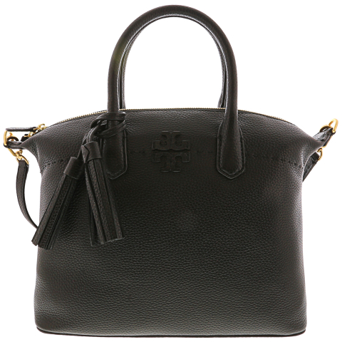 Tory Burch Women's Mcgraw Slouchy Satchel Leather Top-Handle Bag