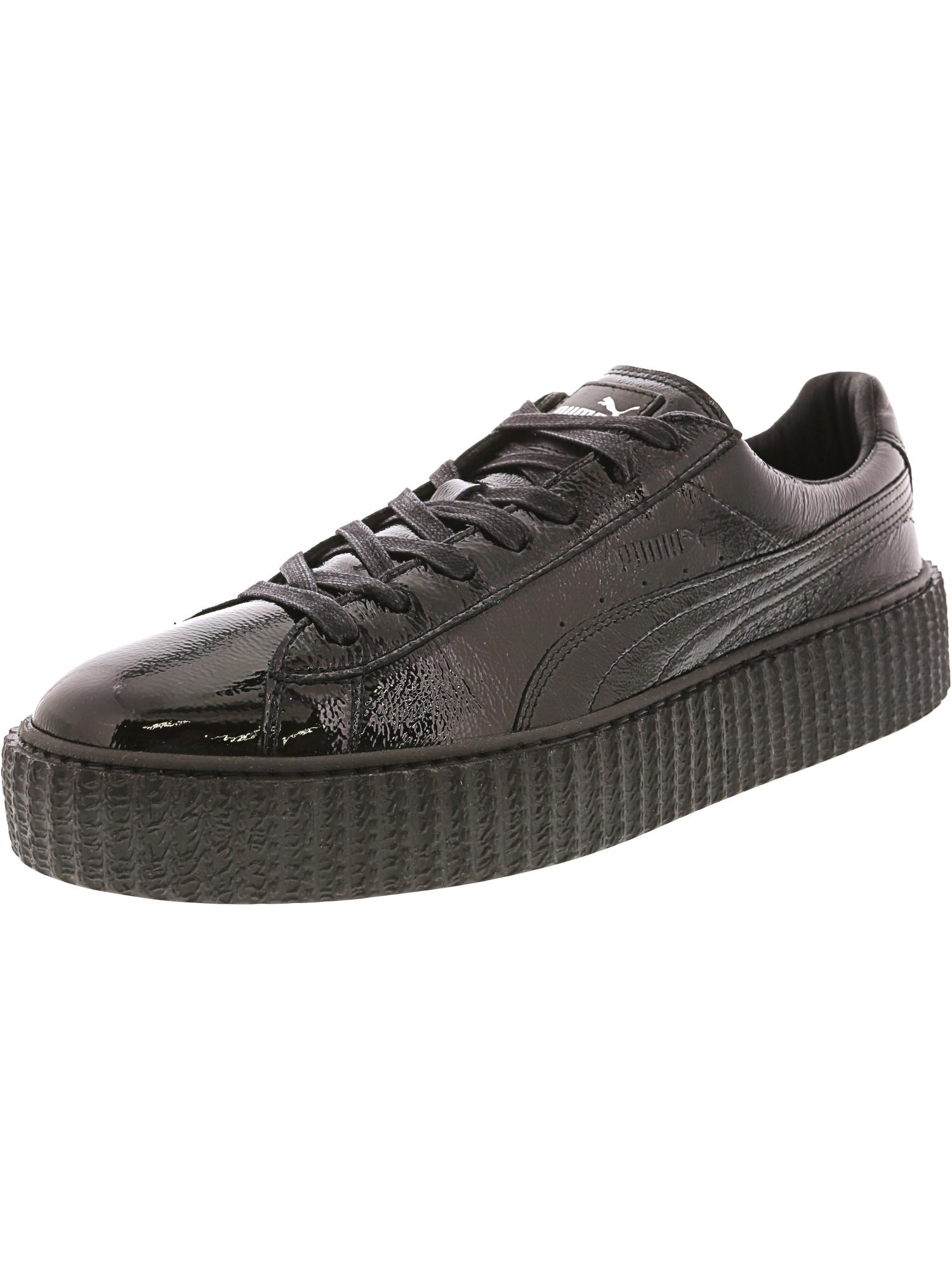 b4f5c8de5ee241 Creeper Ebay Fenty 11 Puma Leather Black Rihanna Shoes Men s Cracked 4g4zYqx