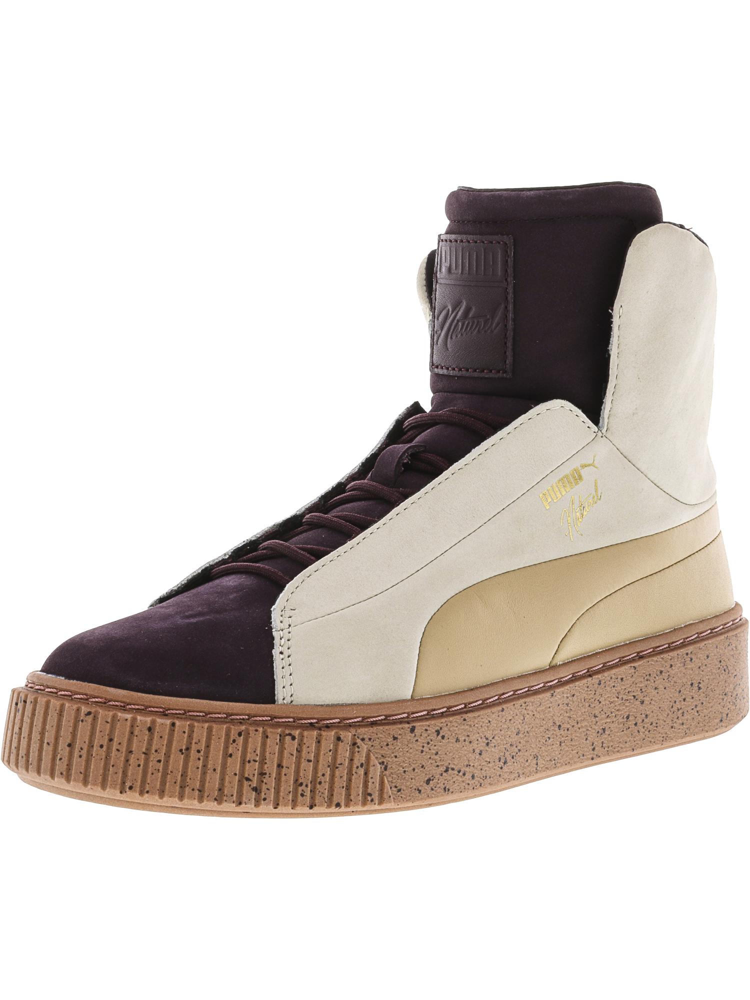 Puma femmes  Platform Fshn Naturel High-Top Fashion Sneaker